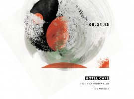 OO Hotel Cafe Poster
